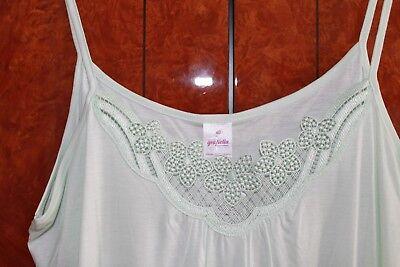 Damen Nachthemd  Sp-Träger Gr. 38 mint grün von Graziella ()