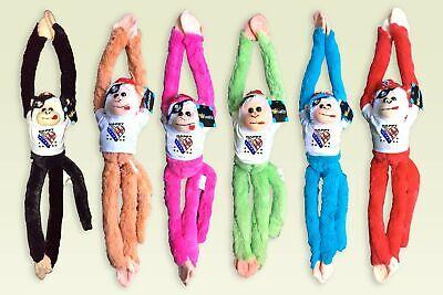 Plush Animals Wholesale (HAPPY 4TH OF JULY Plush wholesale Animal Toy Hanging Monkey 18