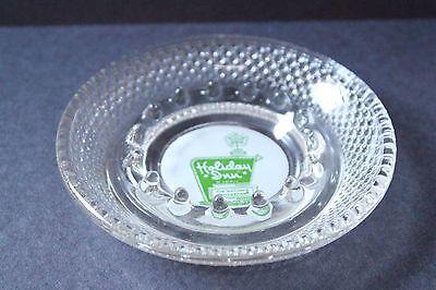 HOLIDAY INN ASHTRAY, green logo ashtray, hotel souvenir, vintage ashtray, EUC