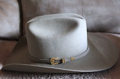 Tan Stallion by Stetson  Cowboy Western Hat Size 7 3/8 Made in Texas