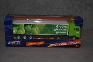 Brand New Adventure Force Asda Model Truck Lorry Scale 1:87 Diecast Car In Box