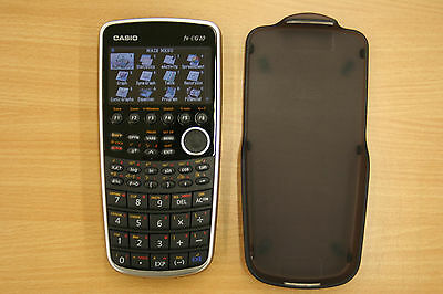 Casio PRIZM FX-CG10 Color Graphic Calculator with Cover Used