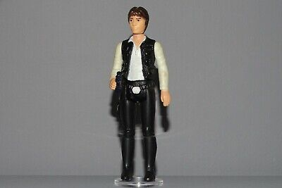 Vintage Star Wars HAN SOLO (LARGE HEAD) 1978 C9 NO COO COMPLETE
