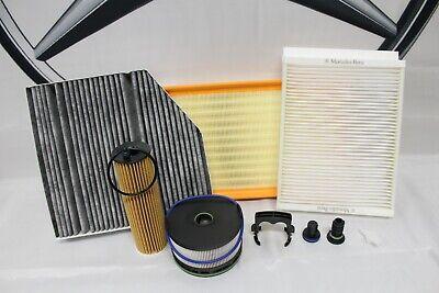 Genuine Mercedes-Benz W213 E-Class E200 E220 CDI Diesel OM654 Filter Service Kit