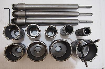 9 Spline Masonry Concrete Core Drill Bits For Hammer Drilling