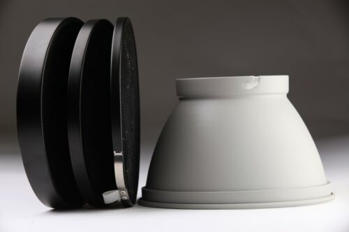 "Elinchrom 8.25""/ 21 cm Reflector & Grid 30°,20°,8° Set"