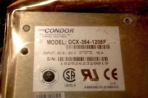 1 new Condor DCX-354-1205F Power Supply... TELECOM EQUIPMENT