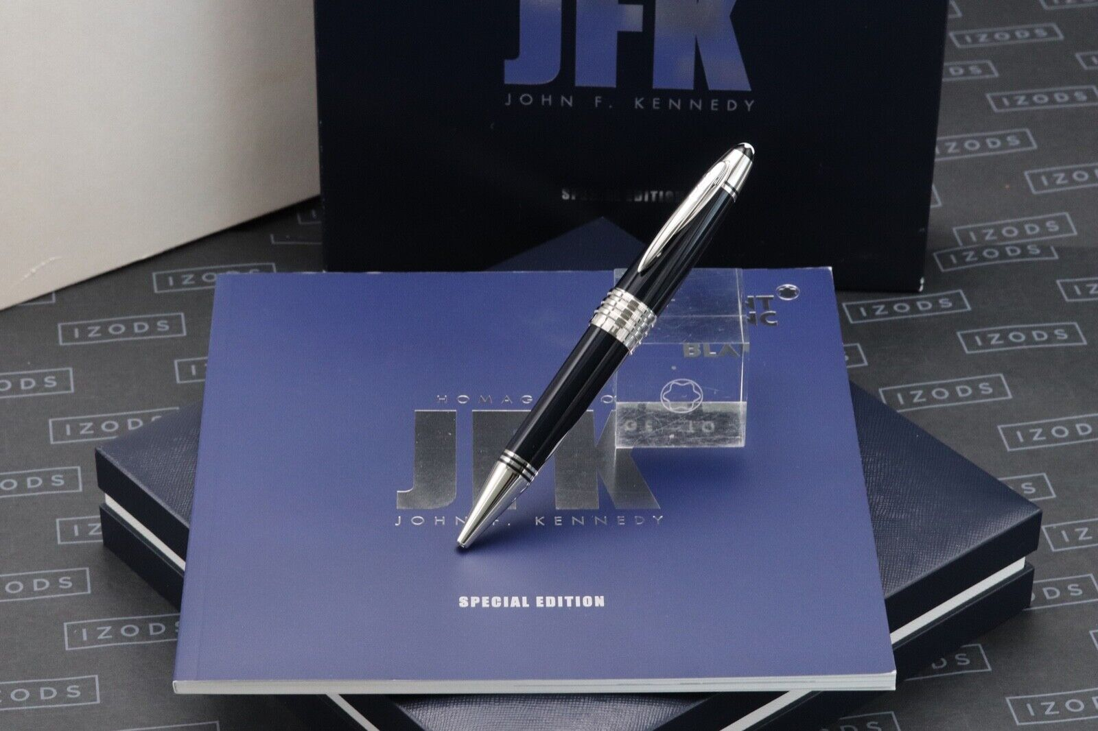Montblanc Great Characters JFK Blue Special Edition Ballpoint Pen - UNUSED