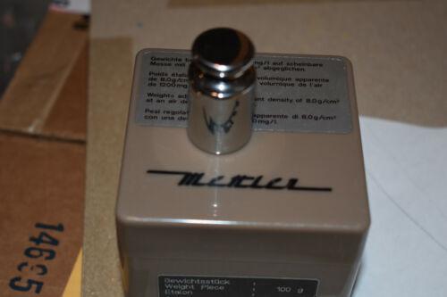 Mettler Toledo 100G Calibration Test Weight Class E2 w/ Case