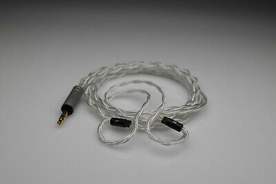 Master pure Silver awg22 2 pin iem Westone 64 Audio Noble StageDiver...