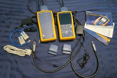 Fluke Dtx-1800 Cat 6a Cable Analyzer W Smart Remote And Accessories Ships Today