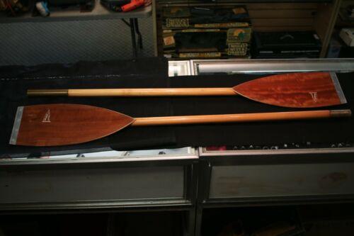 Vintage Folbot Wooden Kayak Paddle 2 Piece 8ft Total Length