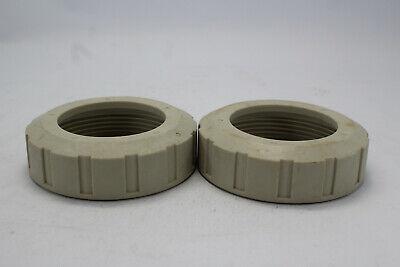 Lot Of 2 Geroge Fischer 169.480.717 2 Pp 546 Valve Nut 50mm Used