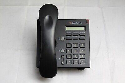 Lot Of 5 Shoretel Ip 115 Voip Poe Display Desktop Business Office Phones