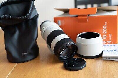Sony 70-200mm F/4 OSS G FE E-Mount Zoom Lens - In orginal packaging