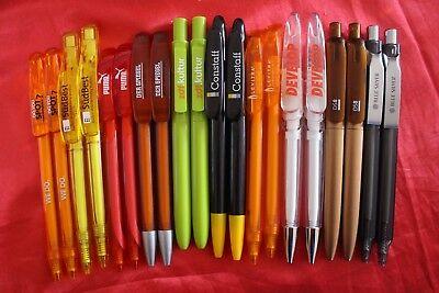 20 verschiedene TOP PRODIR KUGELSCHREIBER * DS1 - DS10 * Konvolut DS8 Swiss Pen