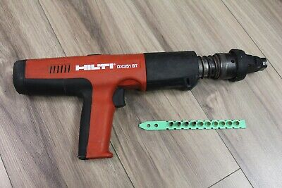 Hilti Dx351 Bt Powder Actuated Tool