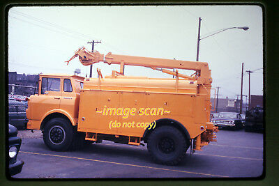 1966 Chevy Utility Truck  Union Electric Of Missouri St  Louis   Orig  Slide A9b