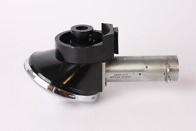 Microscope Leitz Ortholux Incident Illuminator Metallux Objective Revolver 5x