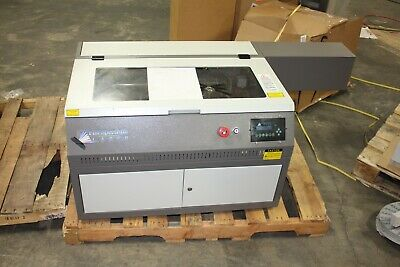 Full Spectrum Laser Engraver Model 5030 60w Co2 Laser W Manuals Water Pump