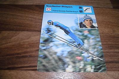 HANS G. ASCHENBACH / Nordischer Skisport - Editions Rencontre S.A. Lausanne 1977