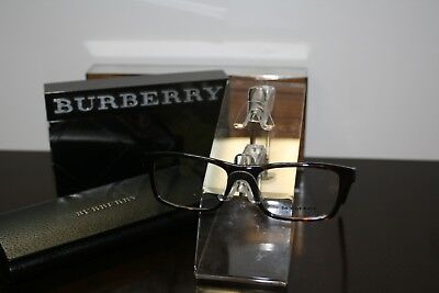 BURBERRY EYEGLASSES. WITH CASE AND CLEANING CLOTH. BRAND NEW.
