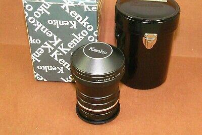 Kenko Fish-Eye 180 Deg. Fisheye Adapter Lens Nikon Camera Canon etc. EXCELLENT**