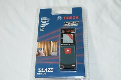 Bosch Glm 20 Compact Blaze 65 Laser Distance Measure Brand New