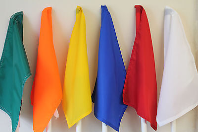 Quality Nylon Golf Flag 450mm x 300mm Tie On . Also suitable for other sports