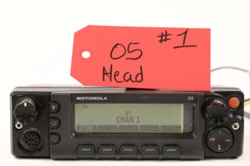 Motorola XTL5000 APX O5 Remote Control Head XTL 5000 w/CHIB *Black