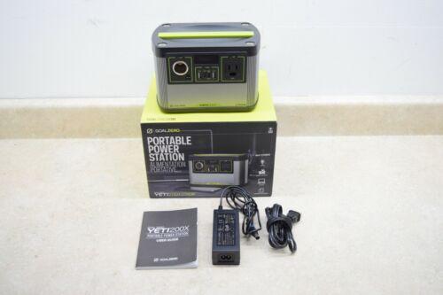 Goal Zero Yeti 200X Portable Power Station 200Wh Capacity, AC Inverter, USB, 12V