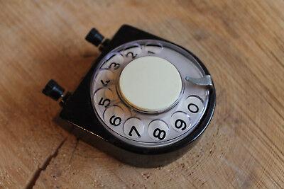 Wählzusatz Scheibe für das Feldtelefon aus Bakelit. Wie neu, CCCP UdSSR. 1A