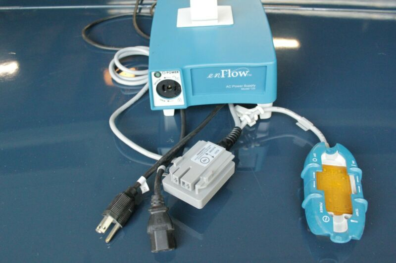 enFlow IV Fluid Blood Warmer System Includes Disposables + Charger for Battery