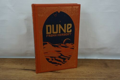 Dune by Frank Herbert hardcover leatherbound collectable book NEW Sealed