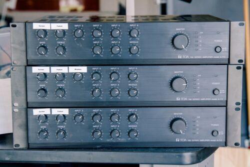 TOA 700 Series A-712 Amplifier