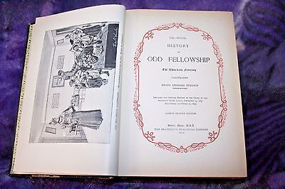 Official History of Odd Fellowship The Three-Link Fraternity Antiquities 1914