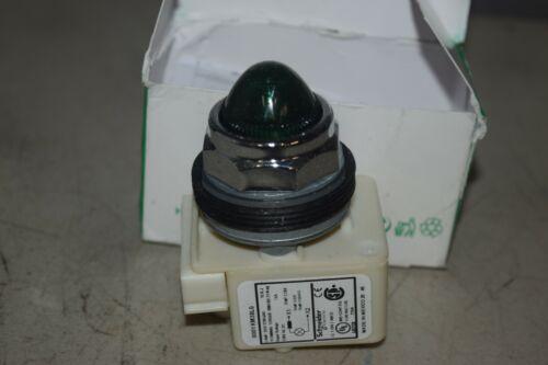Schneider Standard Pilot Light 9001KP38LGG9 120v Green