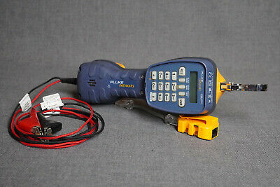 Fluke Networks Ts52 Pro Telephone Test Set With Piercing Pin Clips