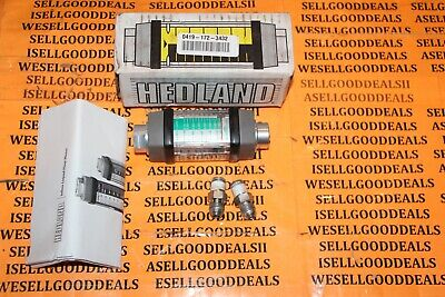 Hedland H213a-010 Flow Meter 14npt Wbf 1gpm Qs10 New