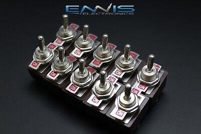 10 Pcs Toggle Switch Dpdt On-on Toggle 3 Amp 250v 5 Amp 125v Ac 6 Pin Ec-1501