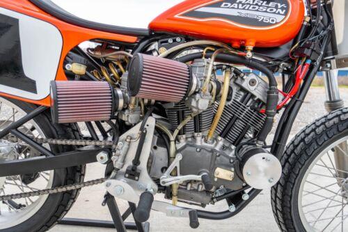 "HARLEY DAVIDSON XR-750 16x20"" PHOTO MOTORCYCLE FLAT TRACK RACING XR750"