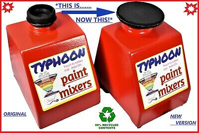 Typhoon Paint Mixer Flat Top Hobby Shaker Tattoo Ink Stirrer Gw Vallejo
