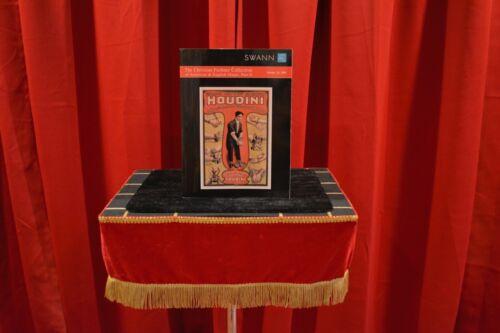 MAGIC CATALOG:  THREE SWANN MAGIC CATALOGS (CHUNCH LING SOO/HOUDINI/HERRMANN