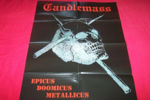 CANDLEMASS EPICUS DOOMICUS METALLICUS / CLUTCH / OPETH  POSTER 75X54 CM