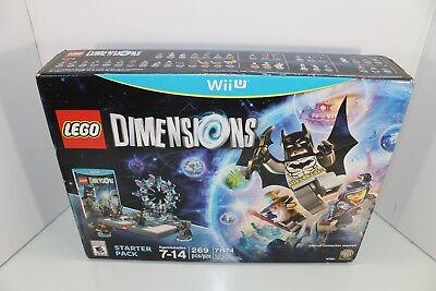 LEGO 71174 Dimensions Starter Pack (Nintendo Wii U) BATMAN GANDOLF WYLDSTYLE
