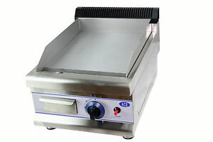 NEW HEAVY DUTY catering trailer 35cm Small LPG GAS GRIDDLE HOTPLATE