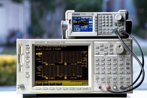 Ono Sokki CF-5210 Dynamic FFT analyzer DC to 100KHz