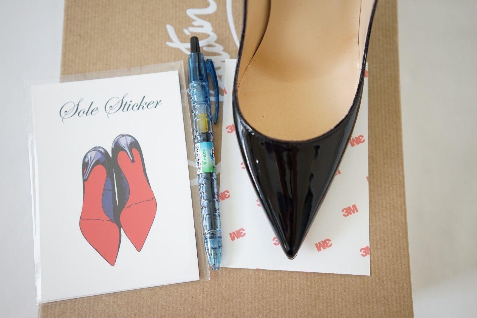 408015e21a44 Женская обувь на высоком каблуке Crystal Clear 3M sole protector guard for Christian  Louboutin red bottom heels
