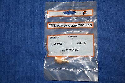 Pomona 4293  Adapter SMA  F/TNC(M)