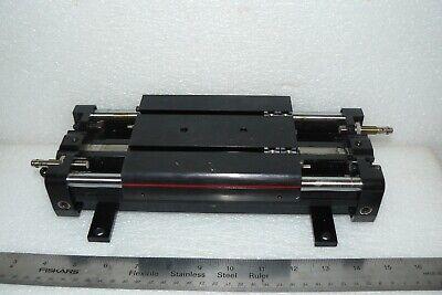 Tolomatic Ls10-sk3-pn2-sh2 Linear Slide Rodless Cylinder W Proximity Sensors
